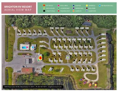Resort Aerial View Map