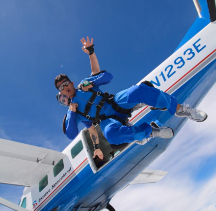 Skydiving with Skydive Spaceland Florida